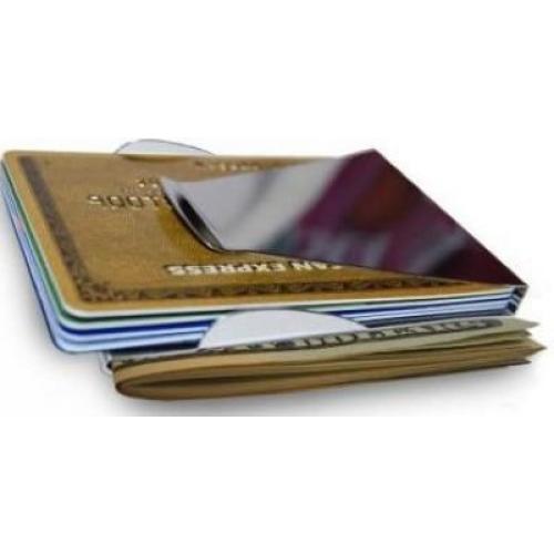 9b9f87ccb049 Двойной зажим для денег и для карточек купить оригинал опт цена 2018  доставка   1001podarok