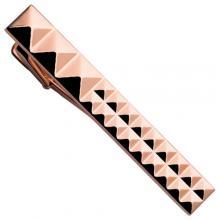 Зажим для галстука ST Dupont Diamond Heads РР Pink Gold Du5382