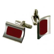 купить Запонки Dalvey Mariner Красный оникс D00723