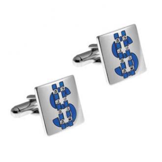 купить Запонки Thompson of London Lucky Symbol SW Dollar RP Th0853cuf