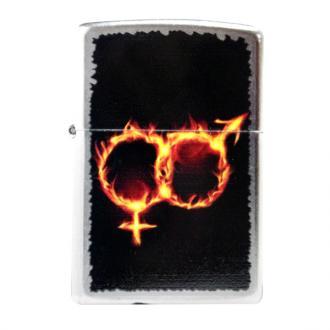 купить Зажигалка Zippo 28446 MAN WOMAN FIRE