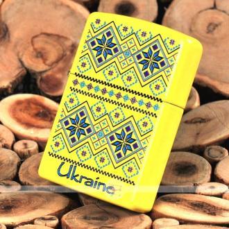купить Зажигалка Zippo 24839-UP UKRAINE PATTERN