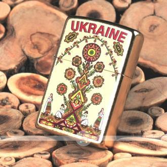 купить Зажигалка Zippo 207G-UT UKRAINE TREE