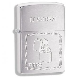 купить Зажигалка Zippo 28574 ZIPPO IT WORKS
