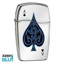Зажигалка газовая Zippo BLU Ace of Spades 30047