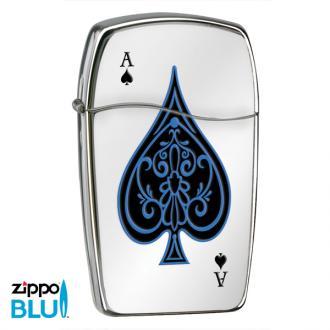 купить Зажигалка газовая Zippo BLU Ace of Spades 30047