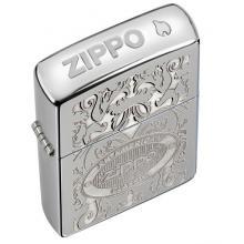 Зажигалка Zippo 24751 GLEAMING PATINA HIGH POLISH CHROME