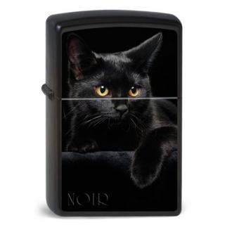 купить Зажигалка Zippo 218.049 Zippocat Noir