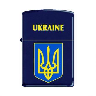 купить Зажигалка Zippo 239UC UKRAINE COAT OF ARMS 1