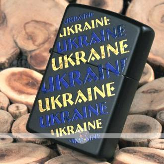 купить Зажигалка Zippo 218-UG UKRAINE GRUNGE