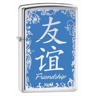 купить Зажигалка Zippo 28065 Chinese Symbol Friendship