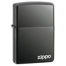 Зажигалка Zippo 150ZL CLASSIC BLACK ICE with zippo