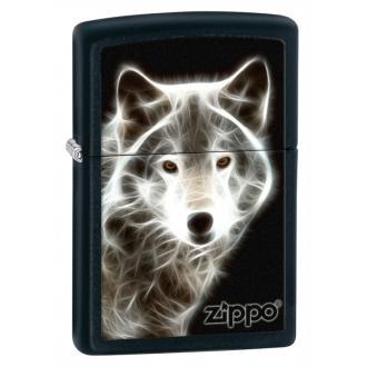 купить Зажигалка Zippo 28303 White Wolf