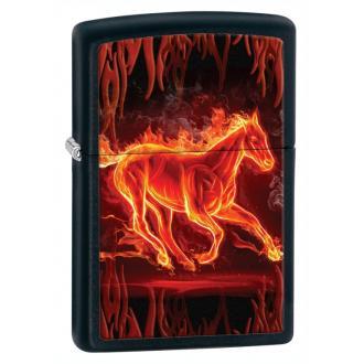 купить Зажигалка Zippo 28304 Flaming Horse