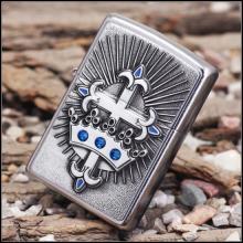 Зажигалка Zippo 24875 Cross  amp; Crown Emblem Street Chrome