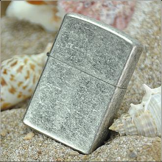 купить Зажигалка Zippo 121FB CLASSIC antique silver plate
