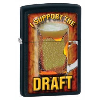 купить Зажигалка Zippo 28294 I Support the Draft