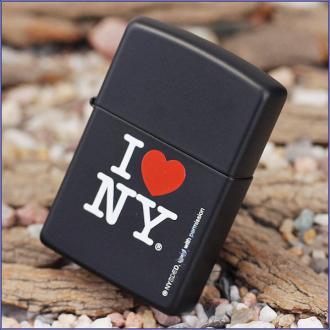 купить Зажилка Zippo 24798 I LOVE NY