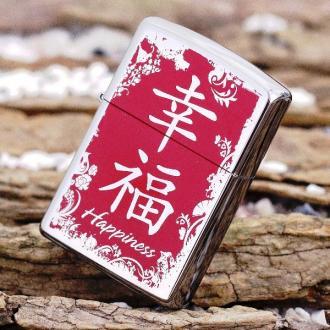 купить Зажигалка Zippo 28067 Chinese Symbol Happiness