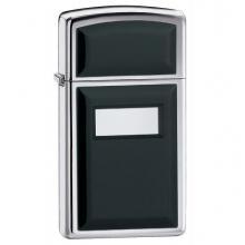 Зажигалка Zippo 1655 CLASSIC ultralite black emblem