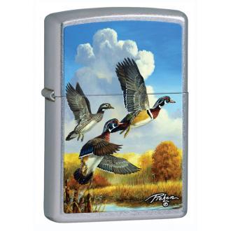 купить Зажигалка Zippo 28009 LINDA PICKEN FLYING DUCKS STREET CHROME
